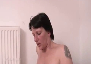 Dark-haired sister adores nasty vaginal sex