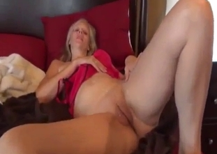 Busty mother bangs with her skinny young sons